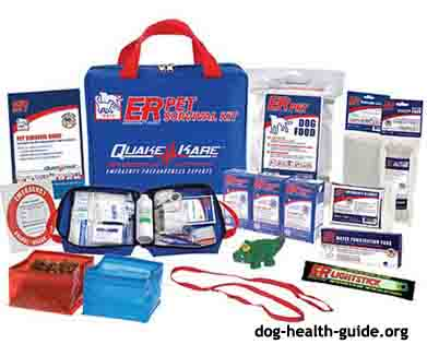 aspca dog emergency kit
