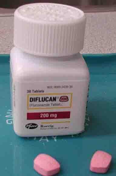 dog candida medicine fluconazole (Diflucan)