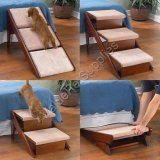 Dog bed steps and ramp foldable