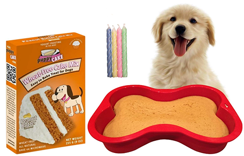 dog cake recipe baking mix kit