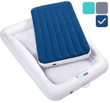 infant bed as a dog air bed