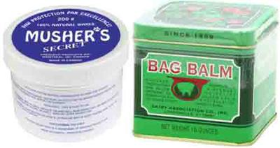 Dog Paw Protection Ideas from Snow Include Musher's Secret and Bag Balm